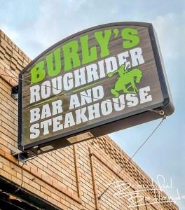 Burly's Roughrider Bar & Steakhouse, Belfield, North Dakota