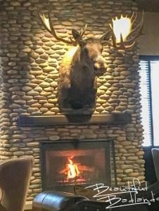 Cozy surroundings at Williston Brewing Company, Williston, North Dakota
