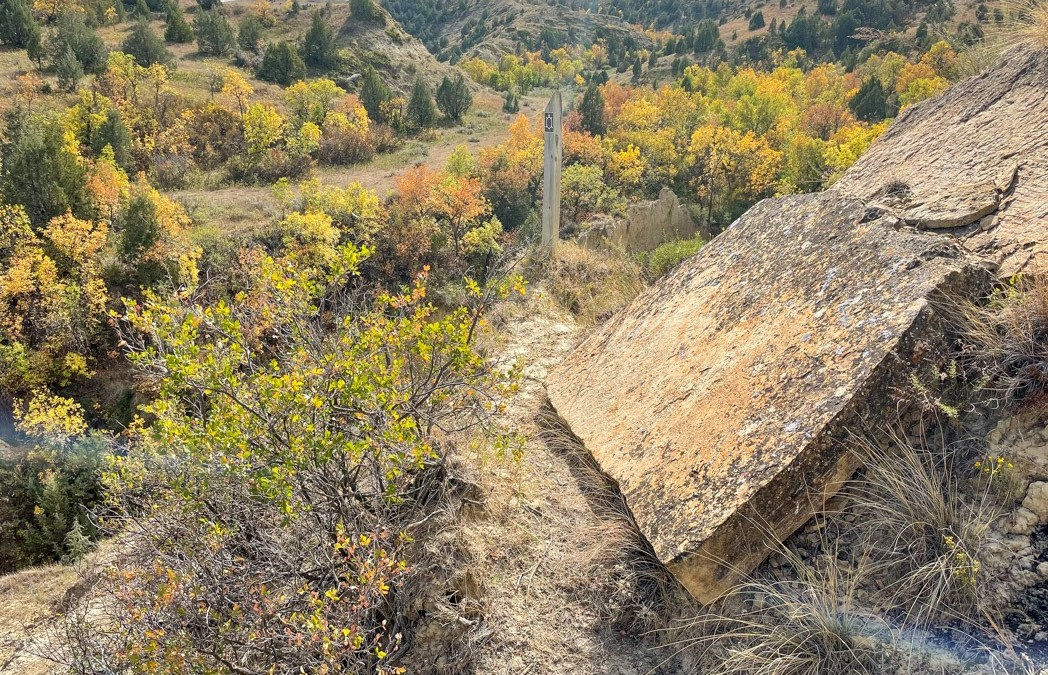 Spectacular Fall Colors on the Maah Daah Hey Trail.  An Outstanding Five Day Adventure in the Beautiful Badlands!