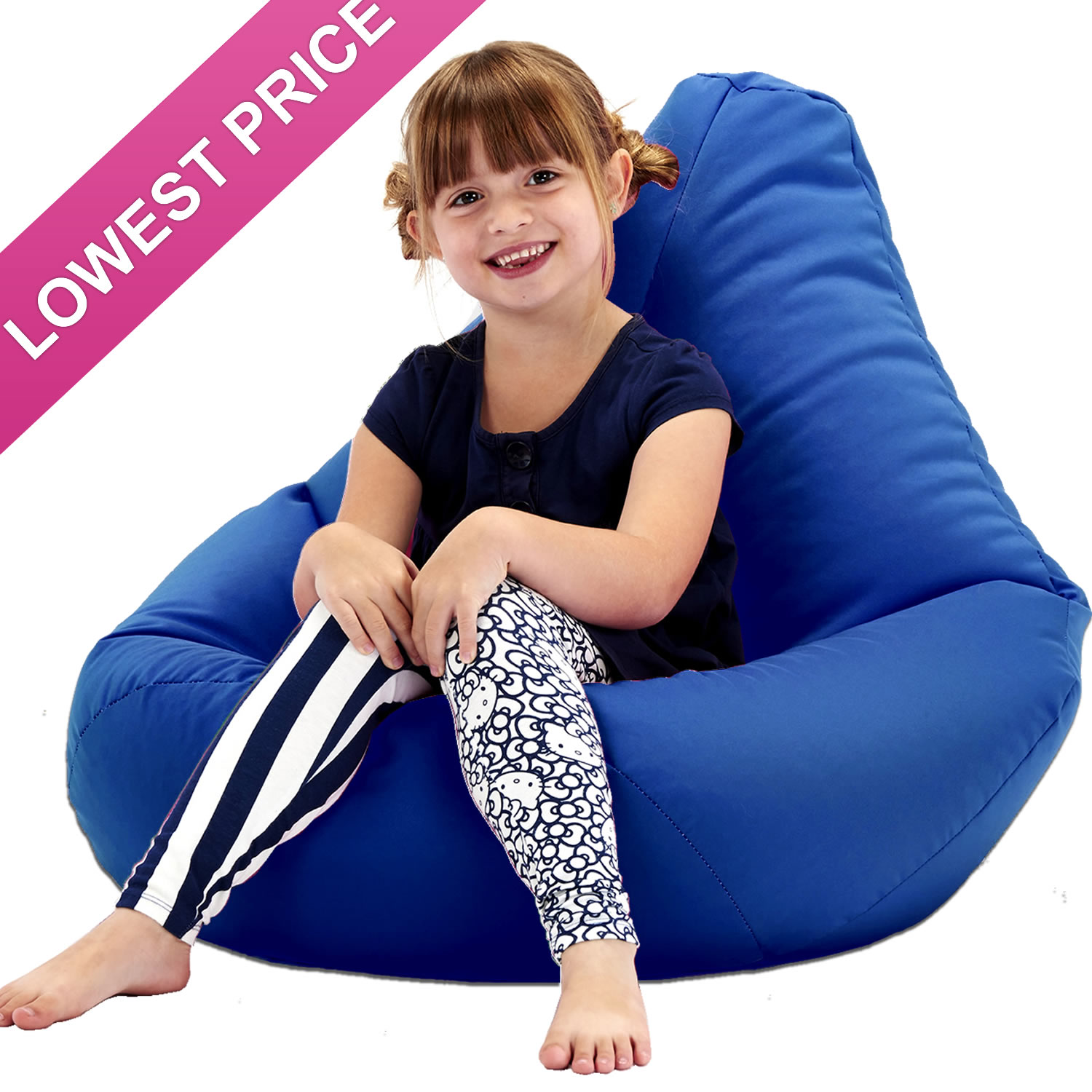 bean bag chair cost comfortable lawn chairs kids highback beanbag for indoors or outdoors