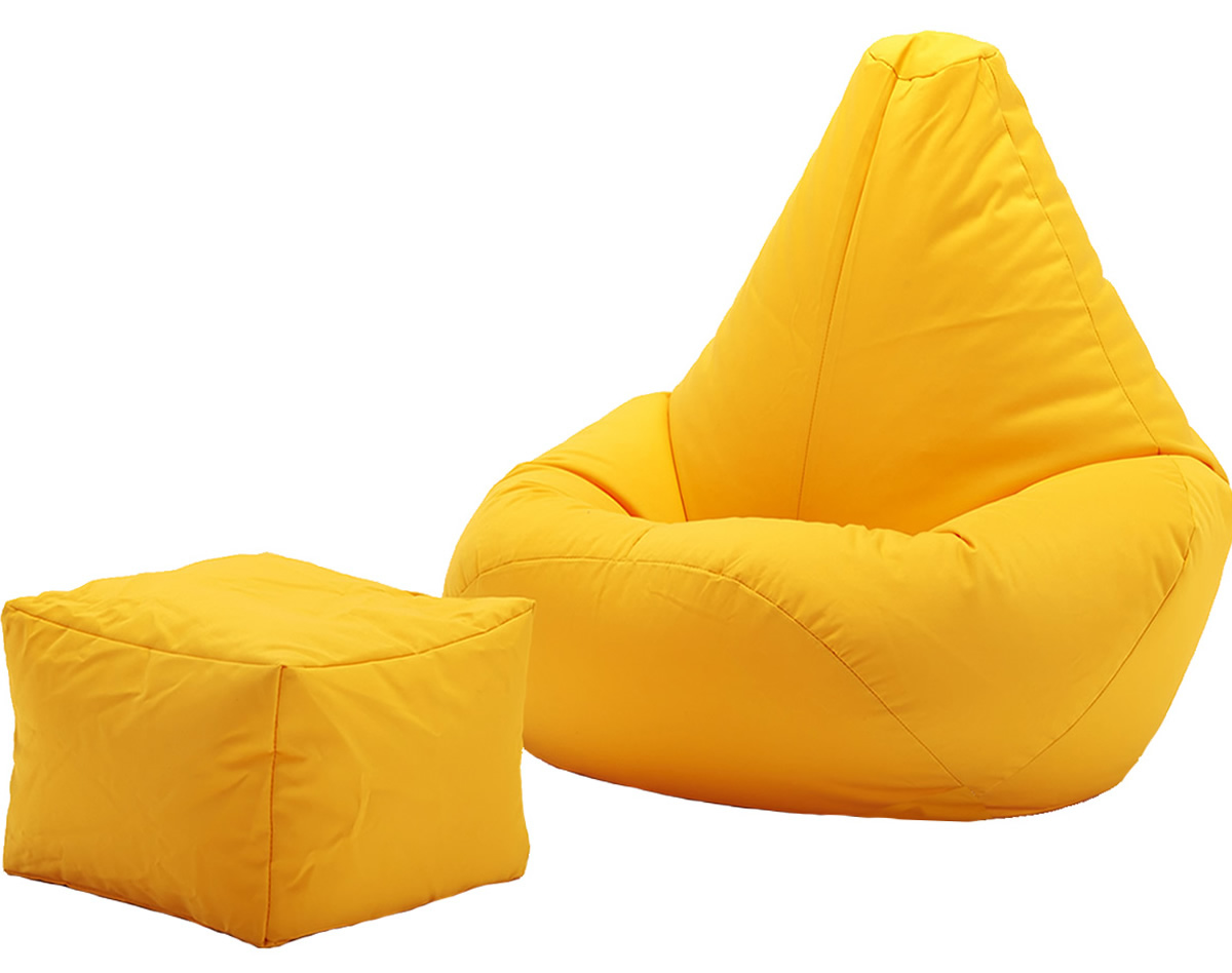 best bean bag chairs for gaming dining room chair reupholstery cost highback beanbag and footstool indoors or outdoors