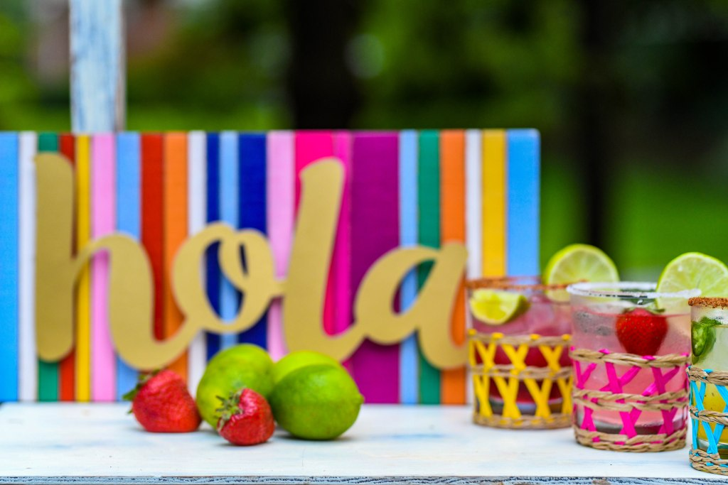 , DIY Margarita Bar