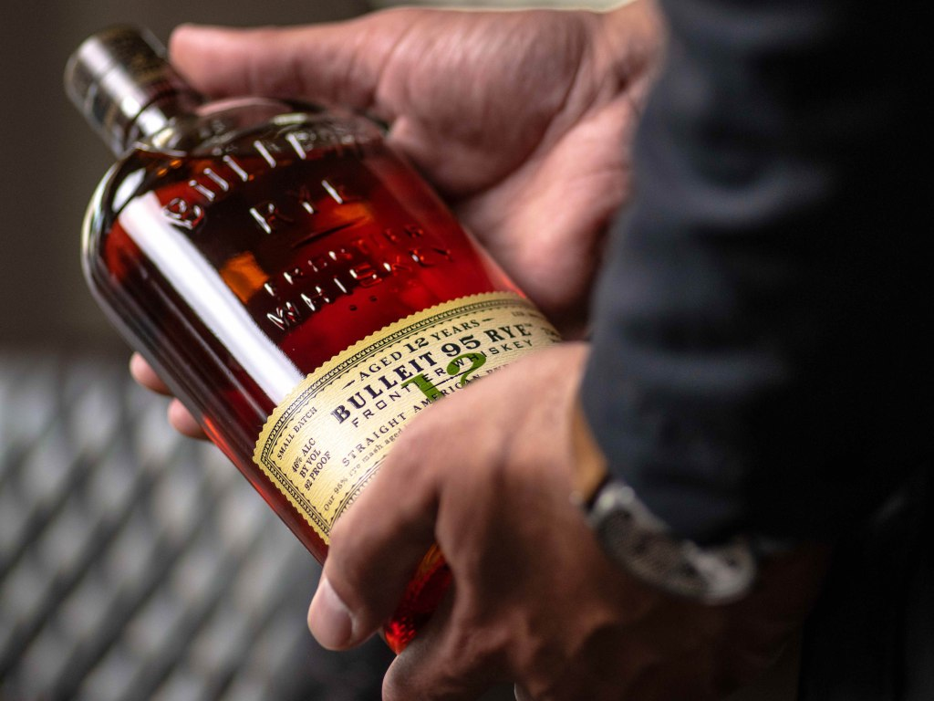 , Bulleit Frontier Whiskey Adds 12 Year Aged Rye