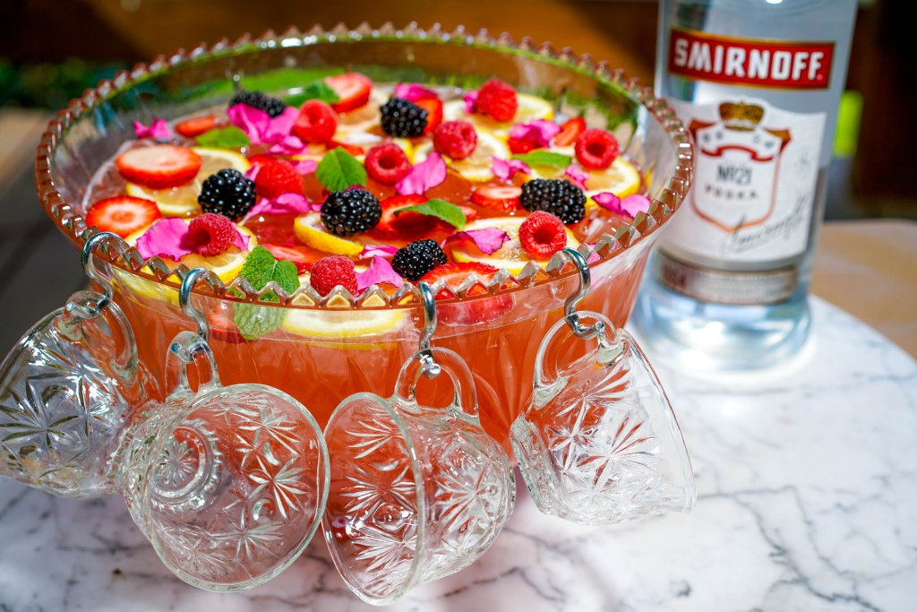 , Smirnoff Vodka & Berry Kombucha Punch