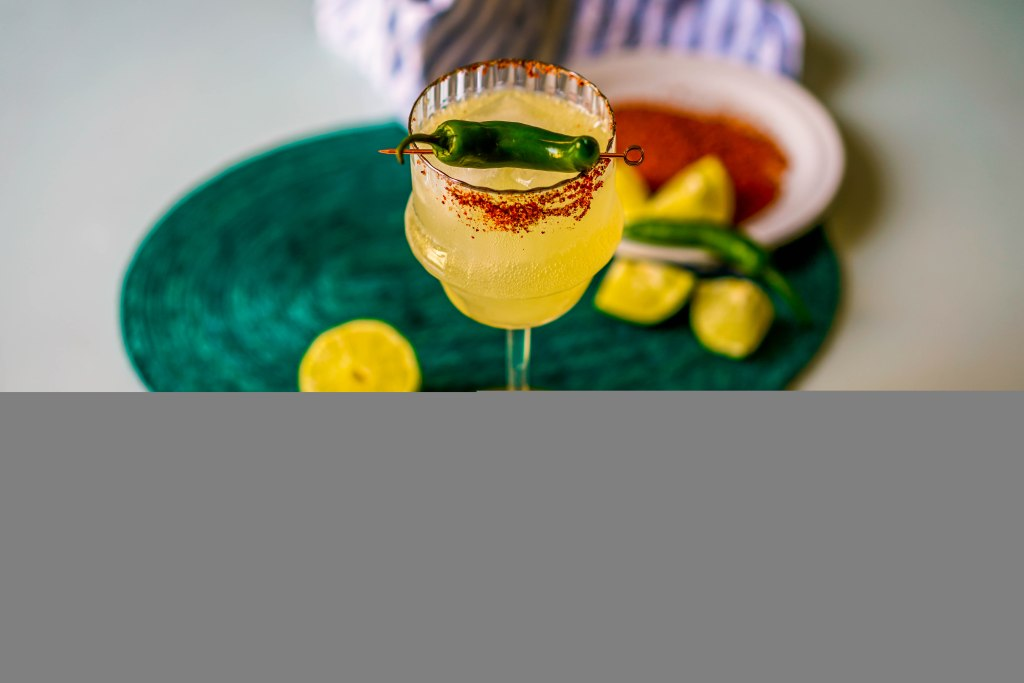 , Sparkling Spicy Marg
