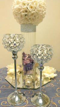 Table Candle Holders Centerpieces   www.imgkid.com - The ...