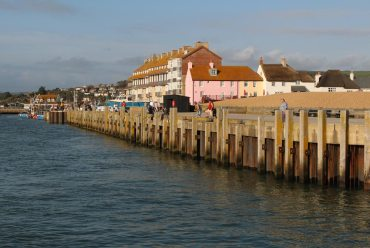 East Pier, from Jurassic Pier, West Bay, near Bridport