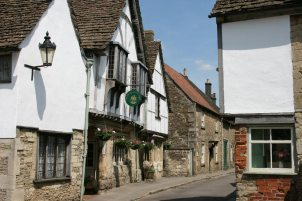 At The Sign of The Angel, Church Street, Lacock