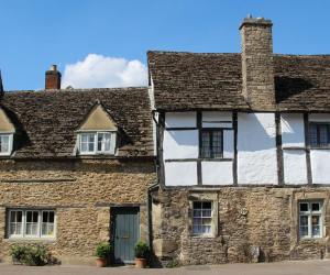 No. 22 and The Chamberlain's House, High Street, Lacock