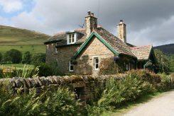Cottage on the original Pennine Way, Edale