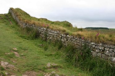Hadrian's Wall, at Housesteads Crags