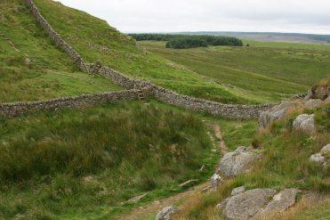 Hotbank Crags, Hadrian's Wall