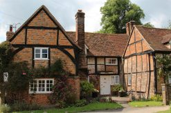 Old Beams Cottage, Turville (used as the Vicarage, in Vicar of Dibley)