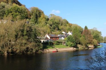 River Wye and Symonds Yat West