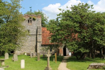 St. Mary's Church, Turville (St. Barnabas Church, in Vicar of Dibley)