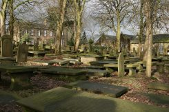 St. Michael and All Angels Churchyard and Brontë Parsonage, Haworth