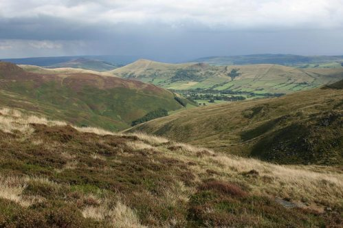 The Great Ridge, from Kinder Plateau