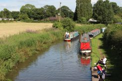 Trent and Mersey Canal, from Ryan's Bridge, Bartington
