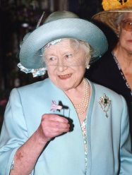 HM Queen Elizabeth, The Queen Mother, Royal Windsor Rose and Horticultural Show, Windsor. 27th June 1997