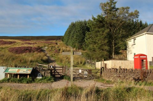 Path to Pen y Fan, from Storey Arms Centre, Brecon Beacons