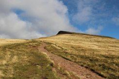 Path to Corn Du and Pen y Fan, Brecon Beacons