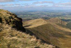 Cefn Cwm Llwch, from Pen y Fan, Brecon Beacons