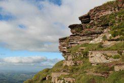 Edge of Corn Du, Brecon Beacons