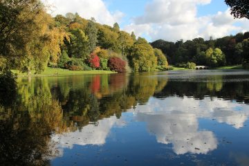 Reflections, Lake, Stourhead