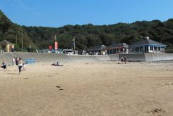 Beach cafes, Caswell Bay, Gower