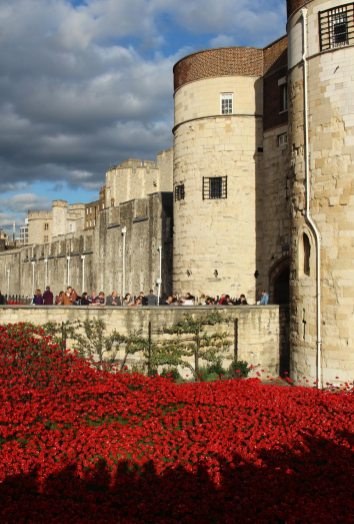 Byward Tower and Western Outer Wall, Tower of London