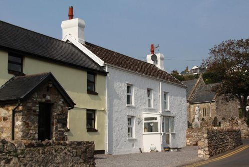 Cottages, Port Eynon