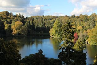 Lake, from Temple of Apollo, Stourhead