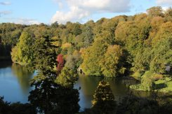 Lake, from Temple of Apollo, Stourhead