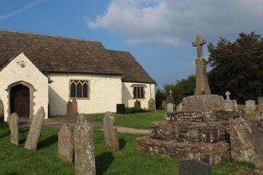 Medieval Cross, St. Sannan's Churchyard, Bedwellty
