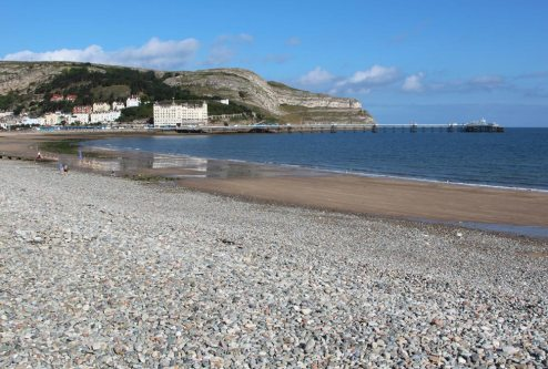 North Shore Beach and Great Orme, Llandudno