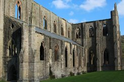 Abbey Church, South Front, Tintern Abbey, Tintern