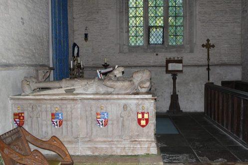 Alabaster tomb of William Lovell, St. Kenelm's Church, Minster Lovell