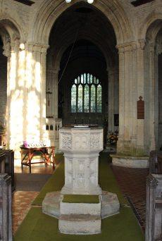 Font, St. Kenelm's Church, Minster Lovell