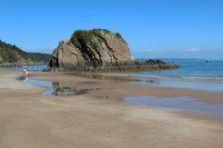Goskar Rock, North Beach, Tenby