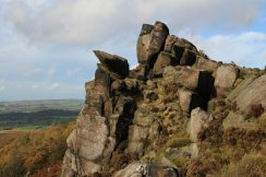 Gritstone crags, The Roaches
