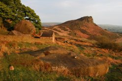 Hen Cloud, from below Rockhall Cottage, The Roaches