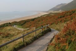 Path to beach, Rhossili Bay, Rhossili