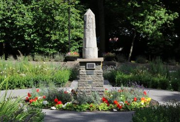 Peace Monument, Bedwellty Park, Tredegar