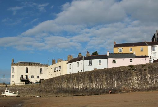 Pier Hill, from Harbour Beach, Tenby