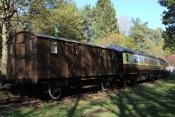Railway Carriages, The Old Station, Tintern