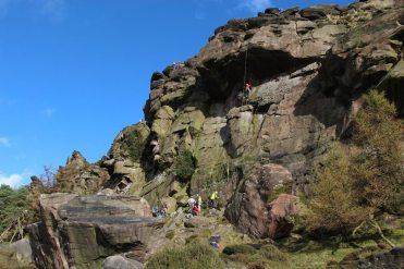 Rock climbing, The Roaches