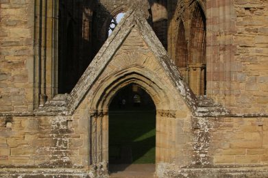 South Transept, Abbey Church, Tintern Abbey, Tintern