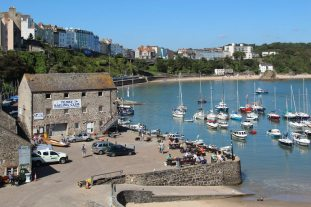 Tenby Harbour and North Beach, Tenby