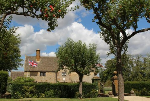 The Orchard, Sulgrave Manor, home of George Washington's ancestors, Sulgrave