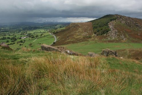 The Roaches, from Hen Cloud